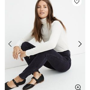Madewell Jeans - Madewell High-Rise Skinny Jeans in Eclipse Wash